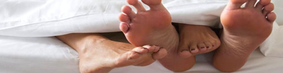 voeten bed banner