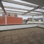 Terras op het dak