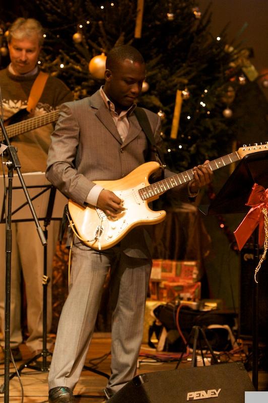 Kerst aanbidding