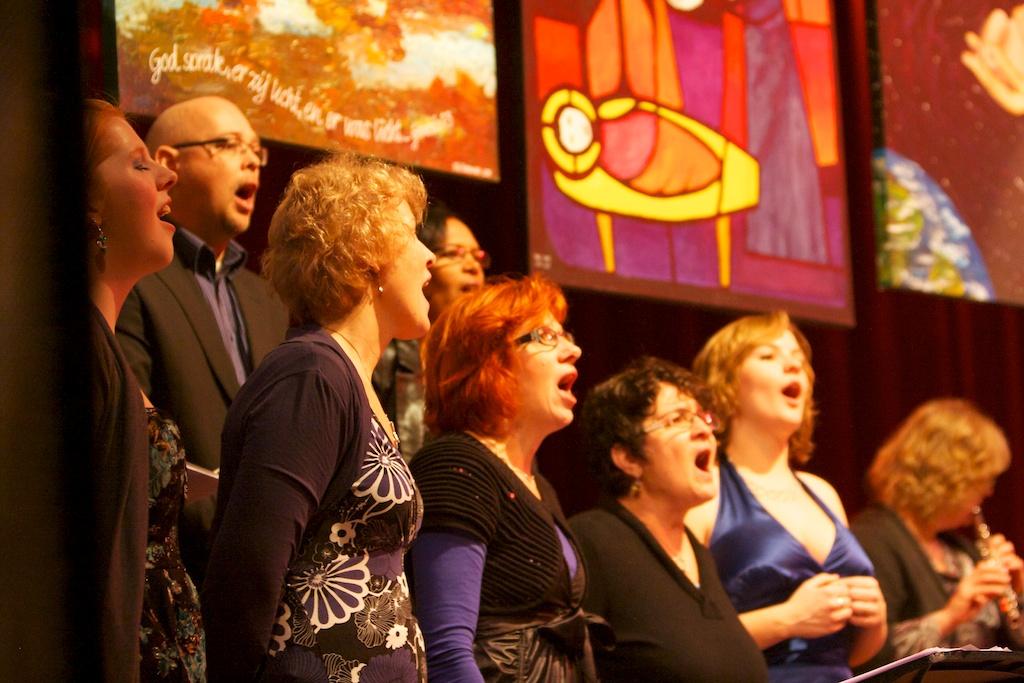 Genieten van het zingen!